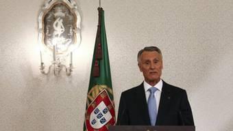 Portugals Präsident Anibal Cavaco Silva