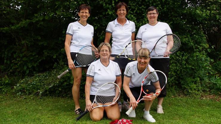 Die Damen 30+ 3L Frick 1 stehen vor der letzten IC-Partie an der Tabellenspitze.