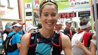 Kathrin Götz aus Bellach lief an den Salomon-4-Trails mit