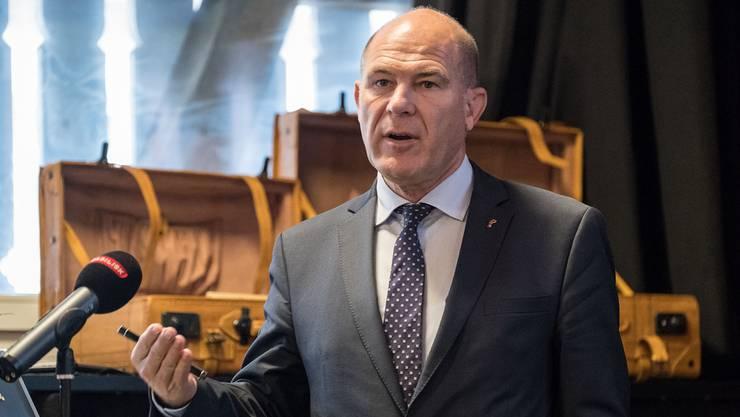 Mit der Lösung des Landrats kann Finanzdirektor Anton Lauber zufrieden sein.