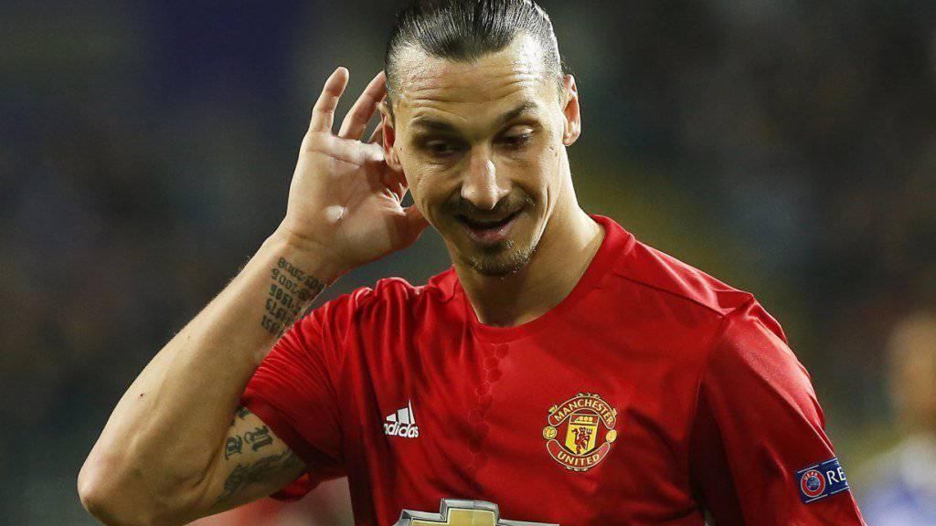 Zlatan Ibrahimovic bald wieder in offizieller Funktion bei Manchester United?