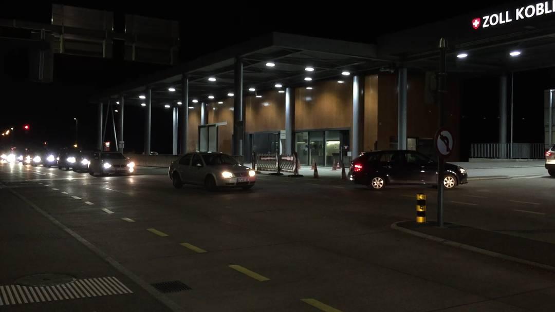 16. März 2020: Stundenlang im Stau vor dem Grenzübergang Koblenz – letzte Grenzgänger kehren erst nachts um 22 Uhr zurück