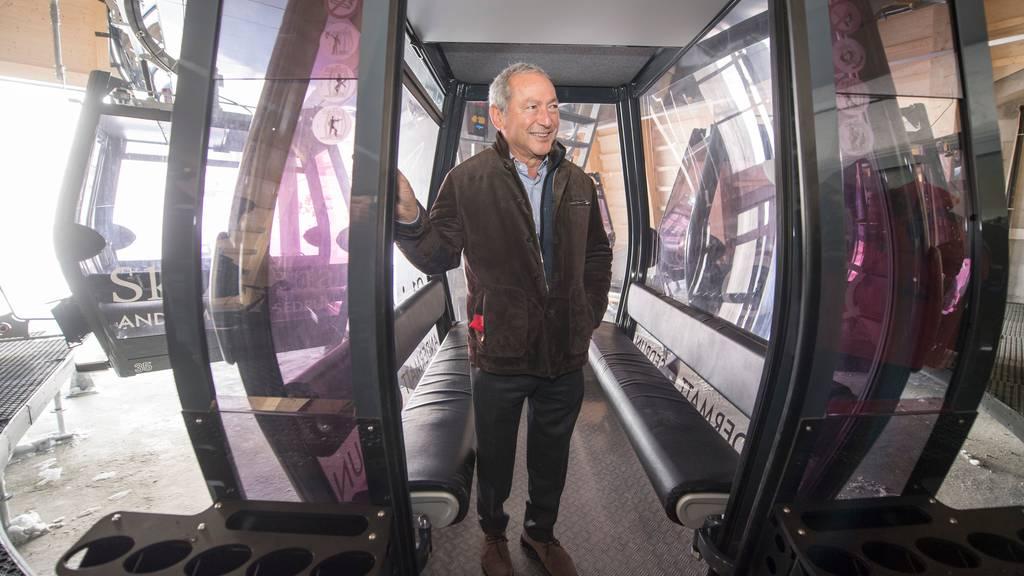 Sawiris übernimmt die Geschäftsleitung bis auf Weiteres