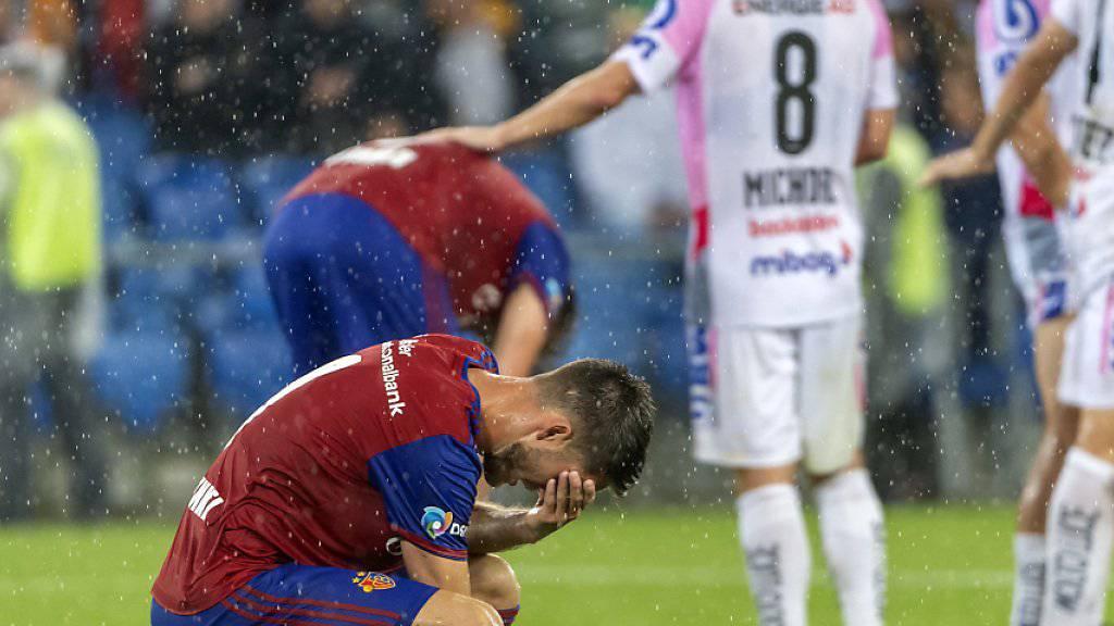 Ricky van Wolfswinkel zog sich gegen Linz eine starke Hirnerschütterung zu und wird dem FCB nun lange fehlen
