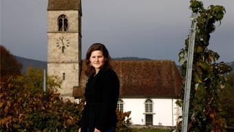 Tabea Glauser ist 26 Jahre alt und die neue Pfarrerin in der Kirchgemeinde Lüsslingen.