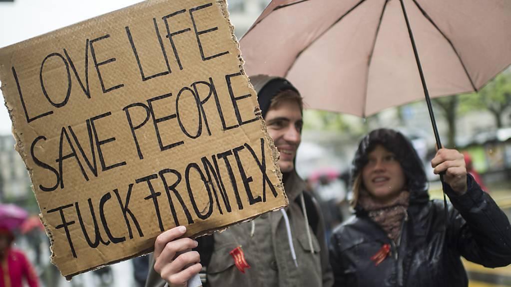 Die Kritik an Frontex wächst - auch in der Schweiz. (Archivbild)