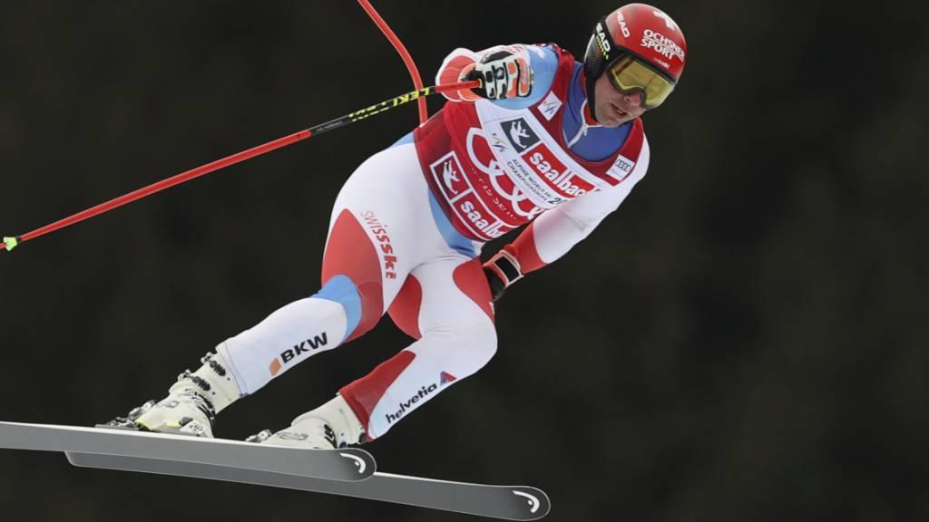 Weber und Feuz beste Schweizer im Abschlusstraining