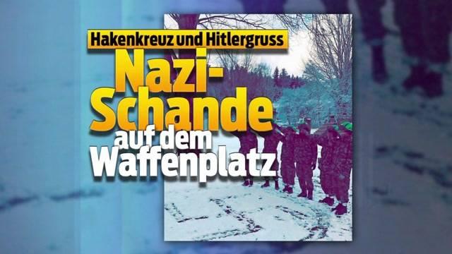 Nazi-Schande auf Waffenplatz