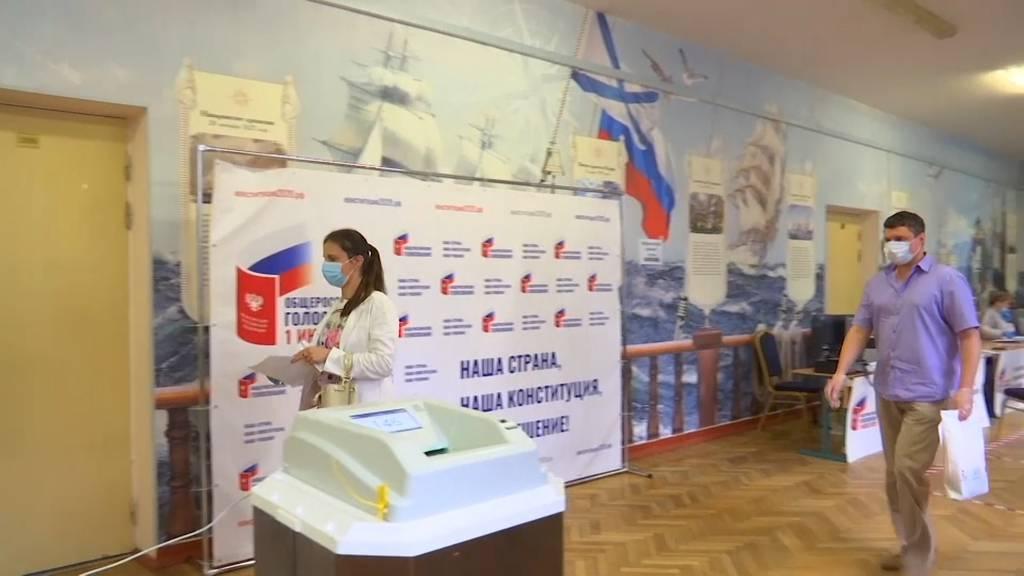 Eindeutiger Sieg für Putin bei Abstimmung über Verfassung