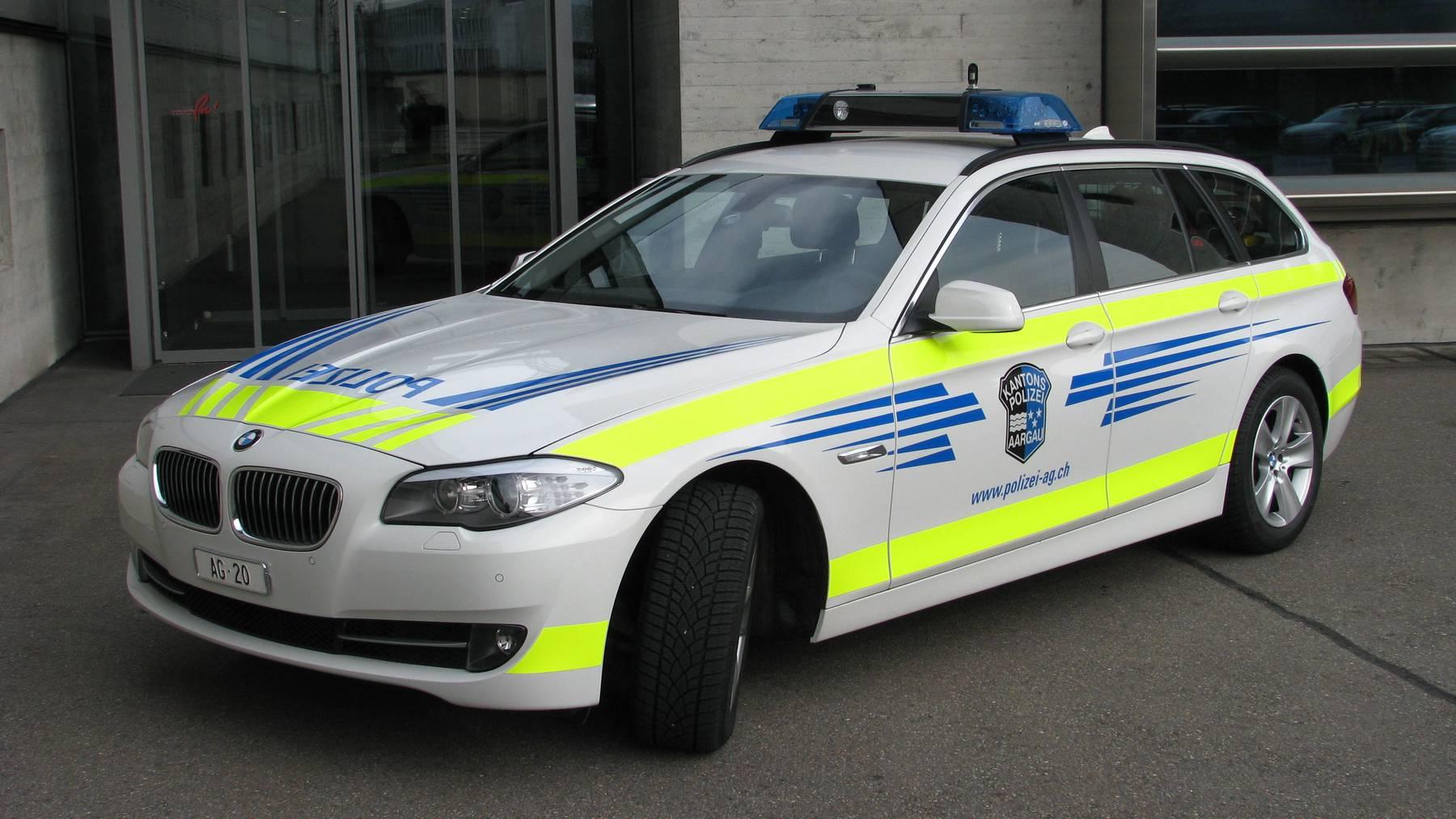 Kantonspolizei Aargau, Fahrzeug (Symbolbild)
