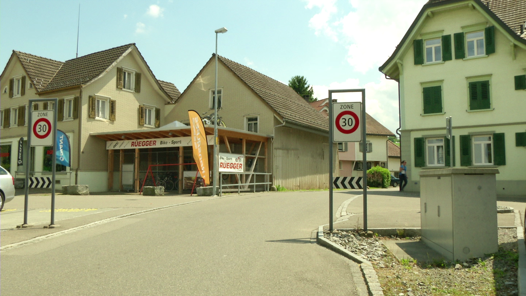 Tempo 30 in Flawil