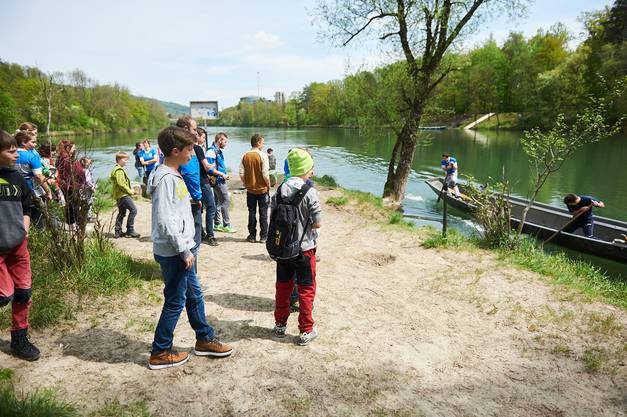 Die Wasserfahrer zeigen live die Sportart