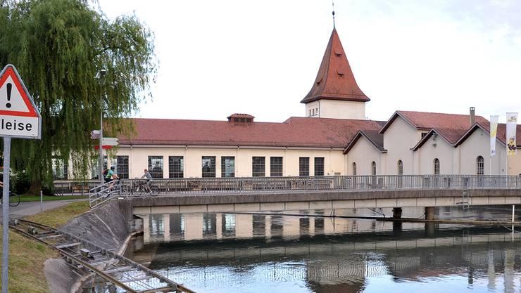 Aus diversen Gründen für den Solothurner Regierungsrat kein Objekt der Begierde: das Wasserkraftwerk Aarau.