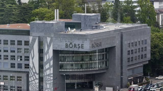 Die Schweizer Börse in Zürich (Archiv)