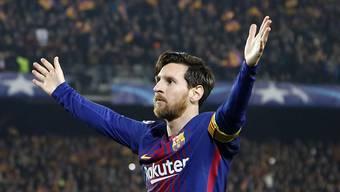 Lionel Messi liefert in der Champions League mal wieder eine Gala-Vorstellung ab