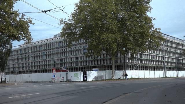 Mehr Wohnfläche im neuen Bundesgebäude?