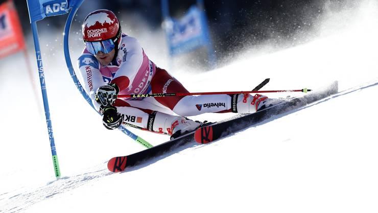 Am Ende war es Platz 17: Loic Meillard ist bester Schweizer.