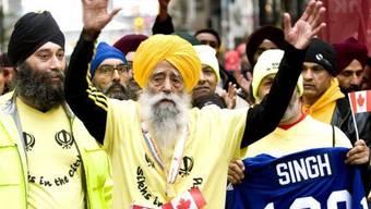 100-Jähriger schafft Marathon in Toronto
