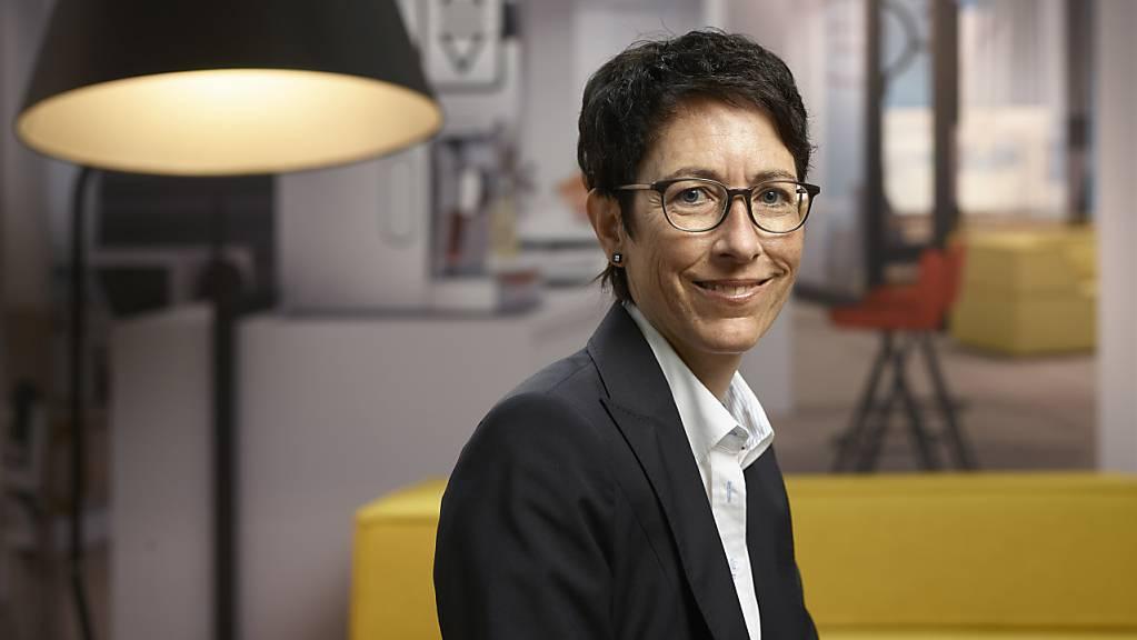 Sandra Lienhart geht zur Postfinance (Archivbild).