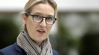 Steht im Zentrum einer Parteispendenaffäre: Alice Weidel, Bundestagsfraktionschefin der rechtspopulistischen Alternative für Deutschland (AfD). (Archivbild)