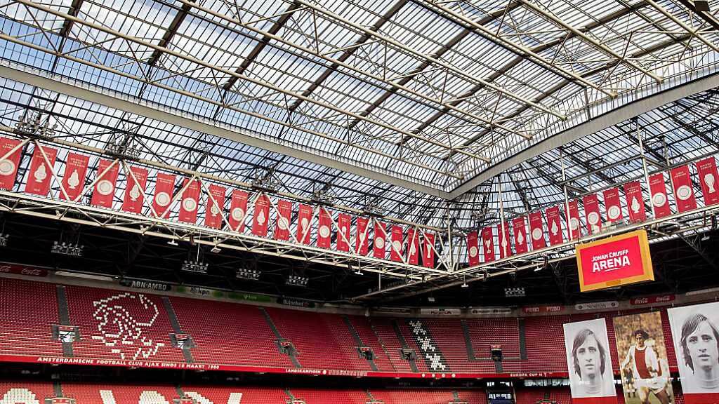Soll erstmals seit Langem wieder ein paar tausend Fans empfangen: die Johan Cruyff Arena in Amsterdam
