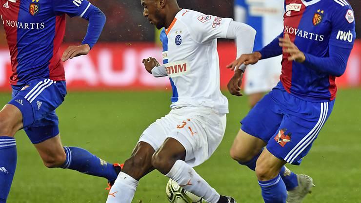 Souleyman Doumbia (links) wechselt von GC zu Stade Rennes