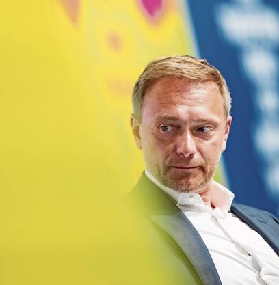 Christian Lindner sieht die FDP als «neue Partei der Arbeit».