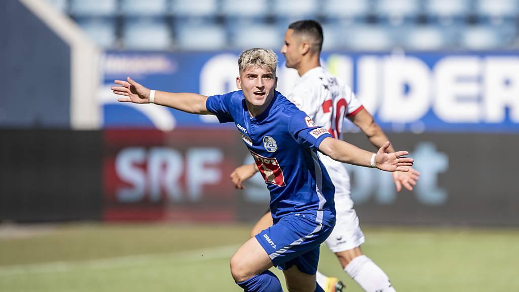 «Wir haben das Potenzial für Platz 2», ist FCL-Mittelfeldspieler Lorik Emini überzeugt