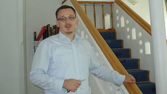 Podiumsteilnehmer Muris Begovic, Imam in der bosnischen Moschee in Schlieren.