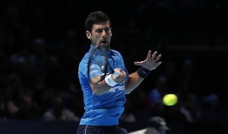 Novak Djokovic mit überzeugendem Start an den ATP Finals: Er fegt Matteo Berrettini vom Platz - Aargauer Zeitung