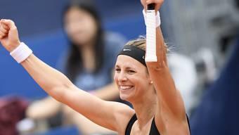 Mandy Minella steht erstmals in ihrer Karriere in einem WTA-Final