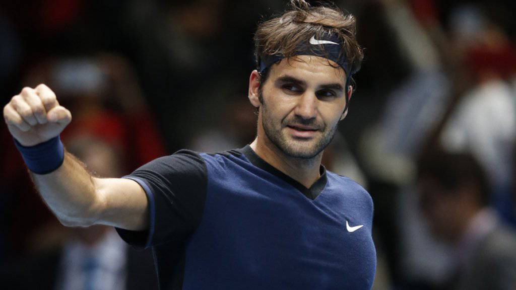 Roger Federer - hier gestern in London - spielt nächstes Jahr in Stuttgart, angeblich wegen einem Auto.