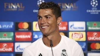 Ronaldo hat bei Twitter 74 Millionen, bei Facebook 122 Millionen und auf Instagram 134 Millionen Follower. (Archivbild)