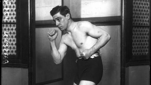 Frank Erne 1908 in Paris, da war seine grosse Zeit als Boxer längst vorbei.