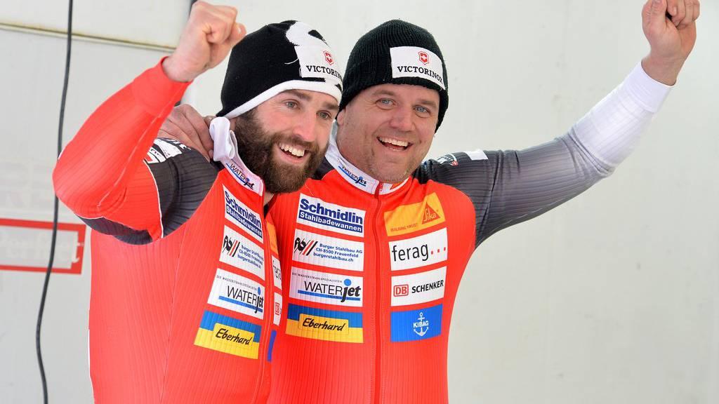 Alex Baumann und Beat Hefti  im Jahr 2016. (Archiv)