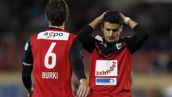 Für Captain Sandro Burki und seinen FC Aarau stehen wegweisende Spiele an.
