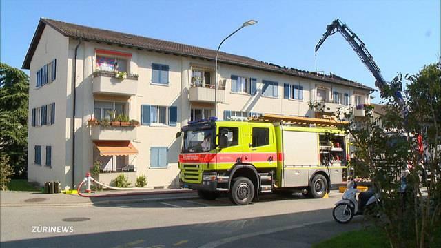 Brandstiftung in Schwamendingen?