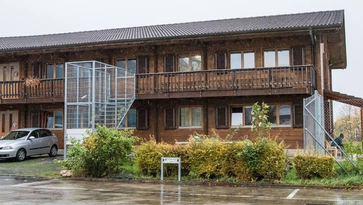 Das Bundesasylzentrum Atlas im Allschwiler Bachgraben-Gebiet bleibt über 2019 hinaus in Betrieb. Nicole Nars-Zimmer