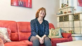 Wenn Gabriela Steiner von ihrer Arbeit erzählt, befindet sich ein Lachen auf ihrem Gesicht.