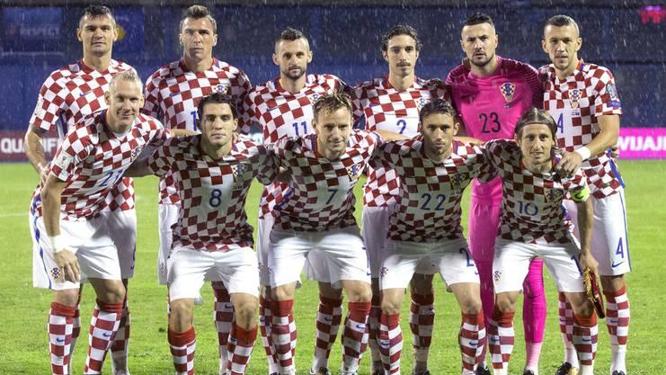 Ivan Rakitic mit der Kroatischen Nationalmannschaft.