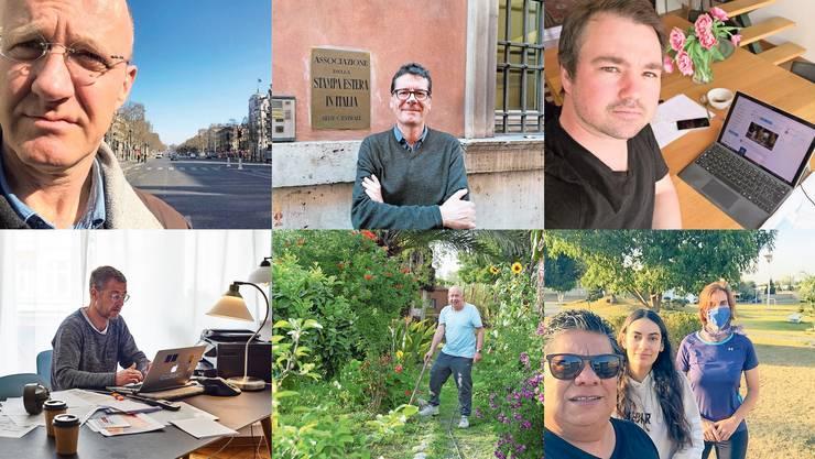 Unsere Ausland-Korrespondenten berichten aus ihrem Leben während der Coronakrise.