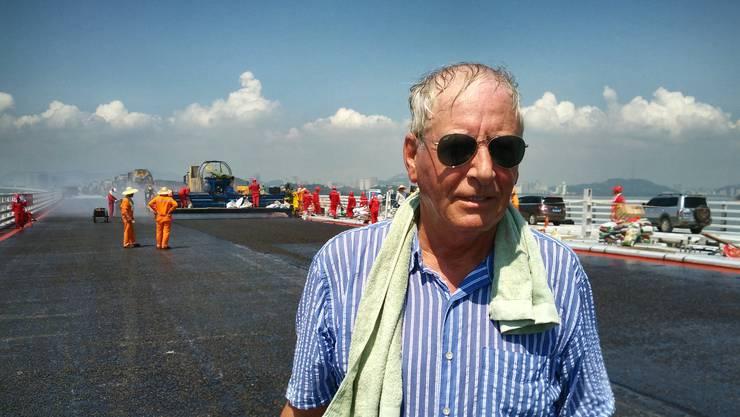 2010 verkaufte Heinz Aeschlimann mit 64 Jahren sein Unternehmen Aeschlimann AG. «Das Asphalt Engineering, den internationalen Teil, führe ich weiter», sagt er.
