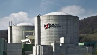 Das Atomkraftwerk Beznau.