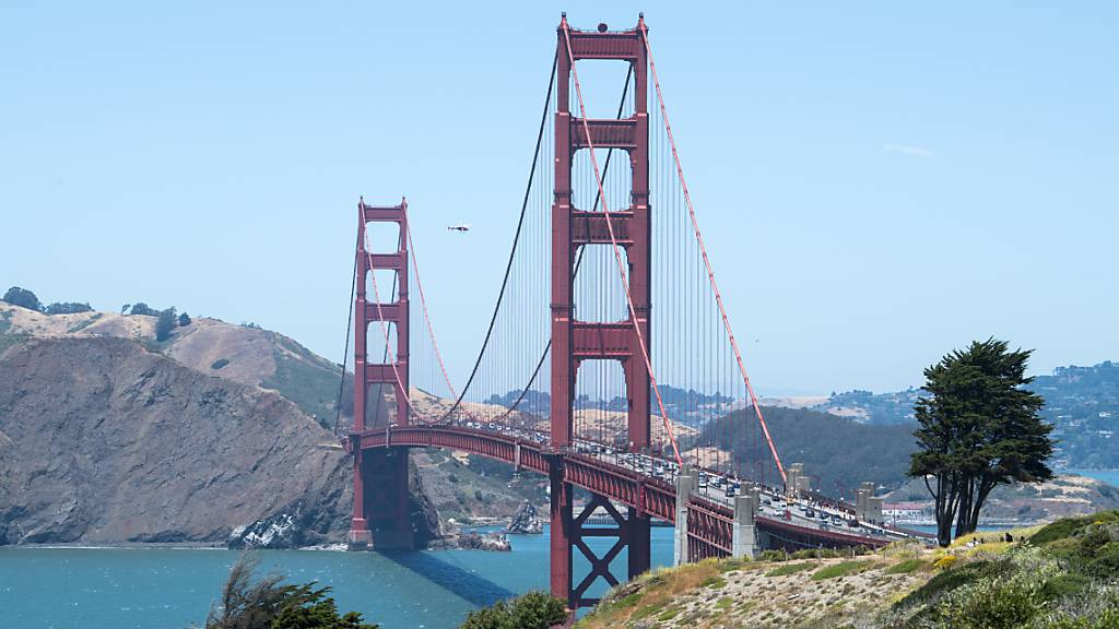 Neues Geländer bringt Golden-Gate-Brücke zum Summen