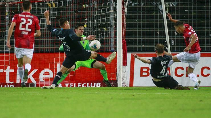 Der FCA kam im Heimspiel gegen Lausanne-Ouchy nicht über 1:1 hinaus.