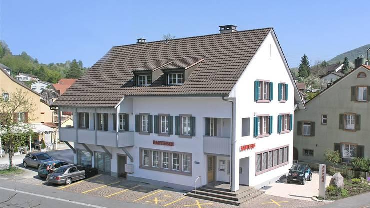 Geschäftsstelle Kaisten der Raiffeisen Regio Laufenburg. AZ Archiv