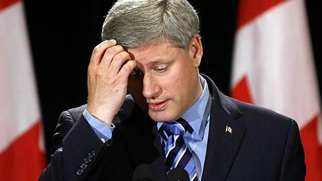 Steuersünder bereiten ihm Kopfzerbrechen: Der kanadische Premier Stephen Harper. Foto: Keystone (Archiv)