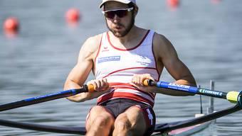 Michael Schmid befindet sich an den Weltmeisterschaften auf Kurs