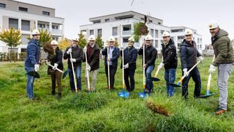 Spatenstich Pflegezentrum Oepfelbaum Recherswil