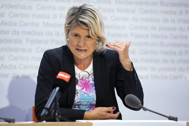 SVP-Nationalrätin Steinemann: «Chiesa kann auf die Leute zugehen».